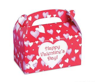 Happy Valentine Day Treat Box